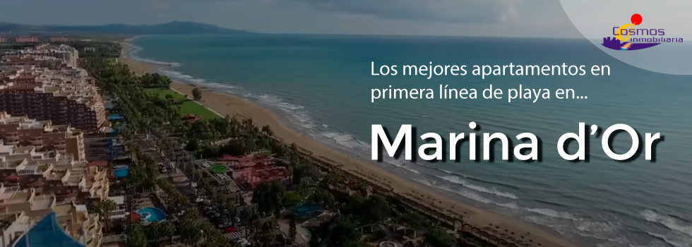 Apartamentos en primera línea de playa en Marina d'Or