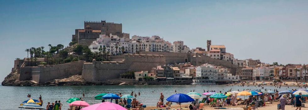 Lugares más visitados de la comunidad Valenciana, Peñíscola
